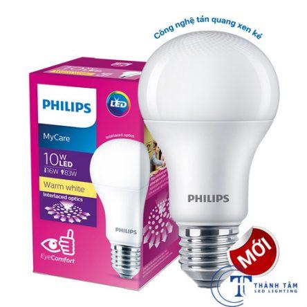 Bóng đèn LED bulb 10W Mycare Philips