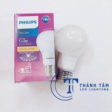 Bóng đèn LED bulb 6W Mycare Philips