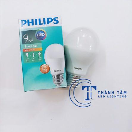 Bóng LED bulb 9W Philips