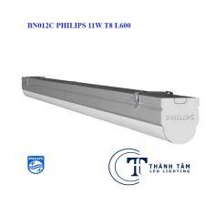 Đèn tuýp led BN012C Philips 11w T8 L600 Liền Máng