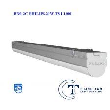 Đèn tuýp led BN012C Philips 21w T8 L1200 Liền Máng